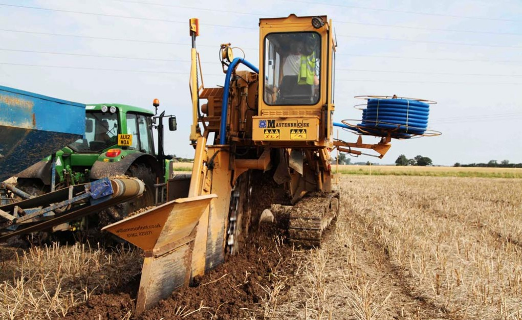 The Benefits of Agricultural Land Drainage | William Morfoot