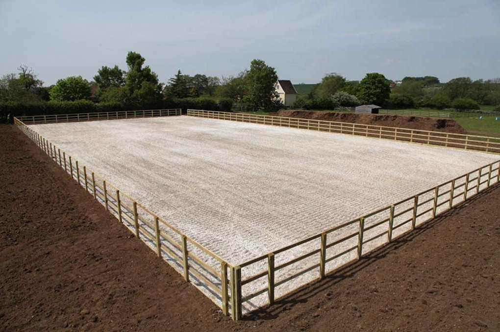 Latest Horse Manege Construction Project Reaches Completion